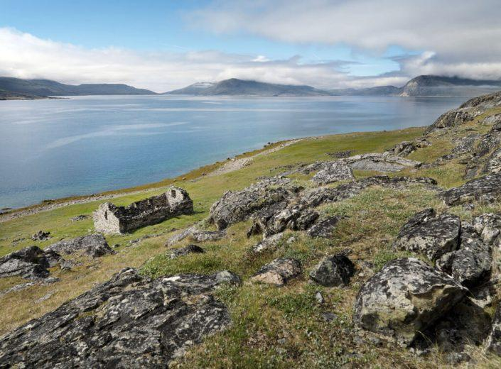 Hvalsey Church Ruin - Greenland's first Christian church
