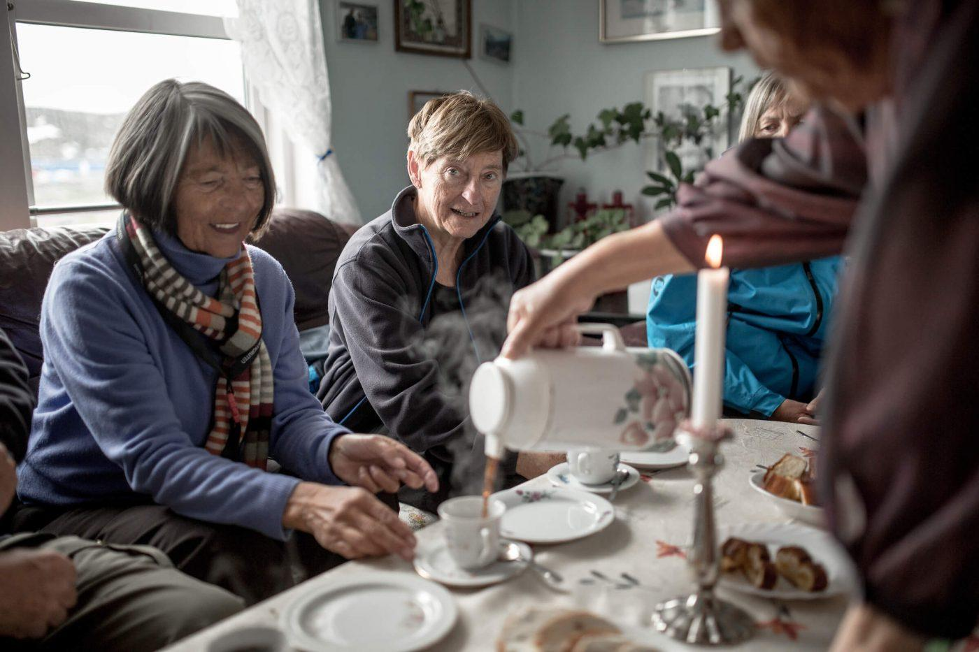 A kaffemik in Itilleq in Greenland. By Mads Pihl