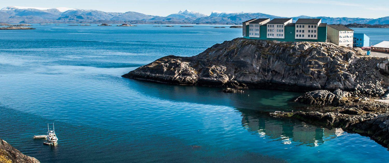 Residential houses in Maniitsoq. By Camilla Hylleberg