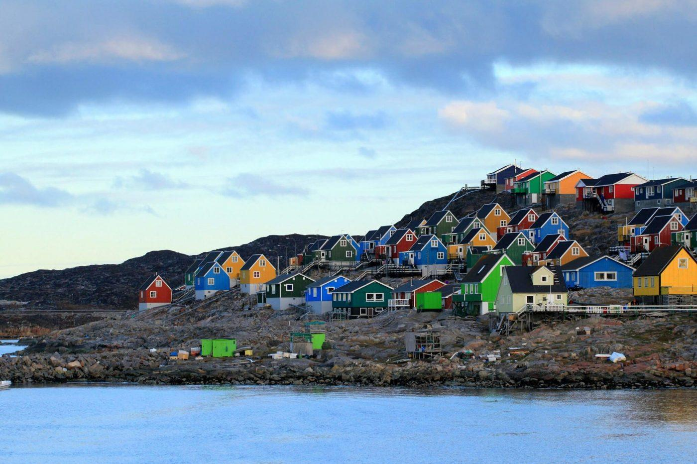 Aasiaat and its colorful houses. Photo by Magssannguaq Qujaukitsoq