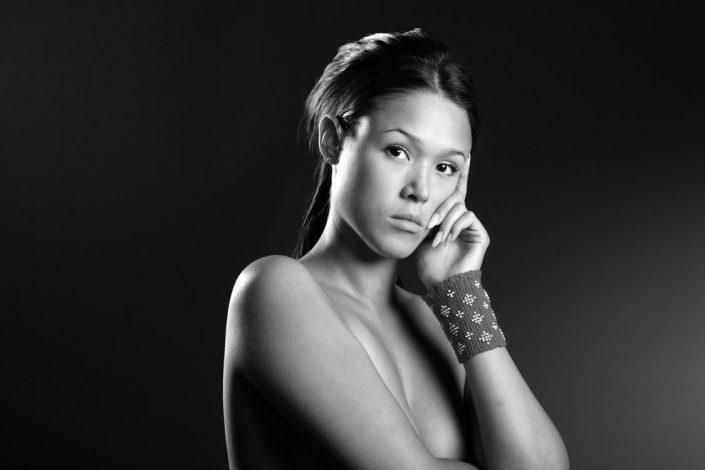 Model posing for a Calender shoot. By Jørgen Chemnitz