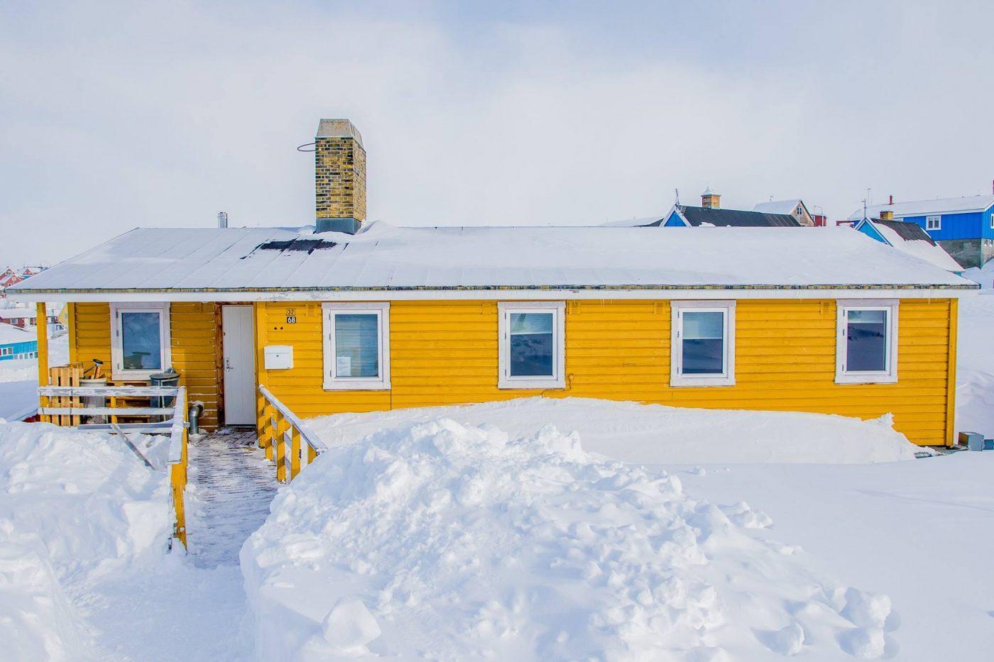 Hope Hostel frontside. Photo by Hope Hostel - Visit Greenland