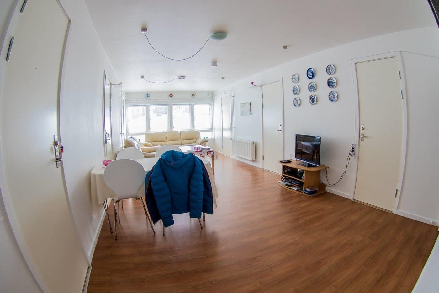 Hope Hostel living room area. Photo by Hope Hostel - Visit Greenland