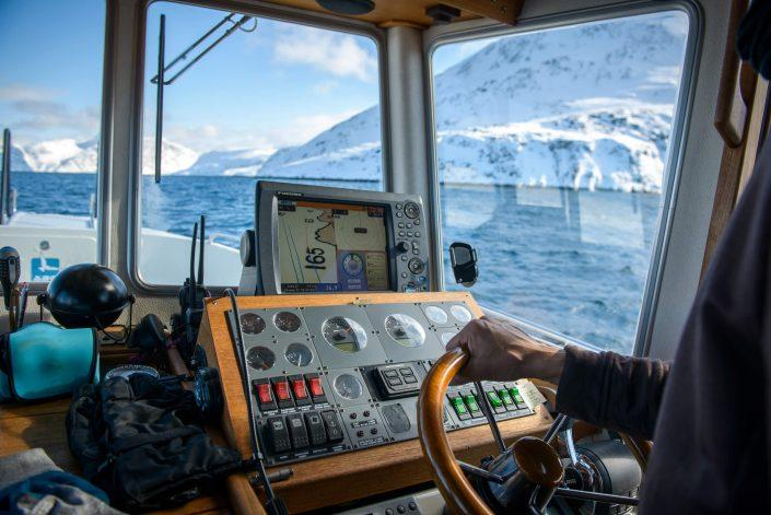 Arctic Boat Charter. Erik Palo Jacobsen. Photo by Petter Cohen
