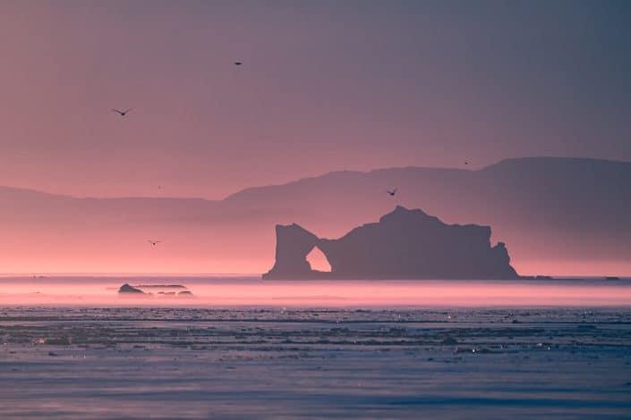 Ilulissat Icefjord - melting iceberg. Photo by Maria Sahai.