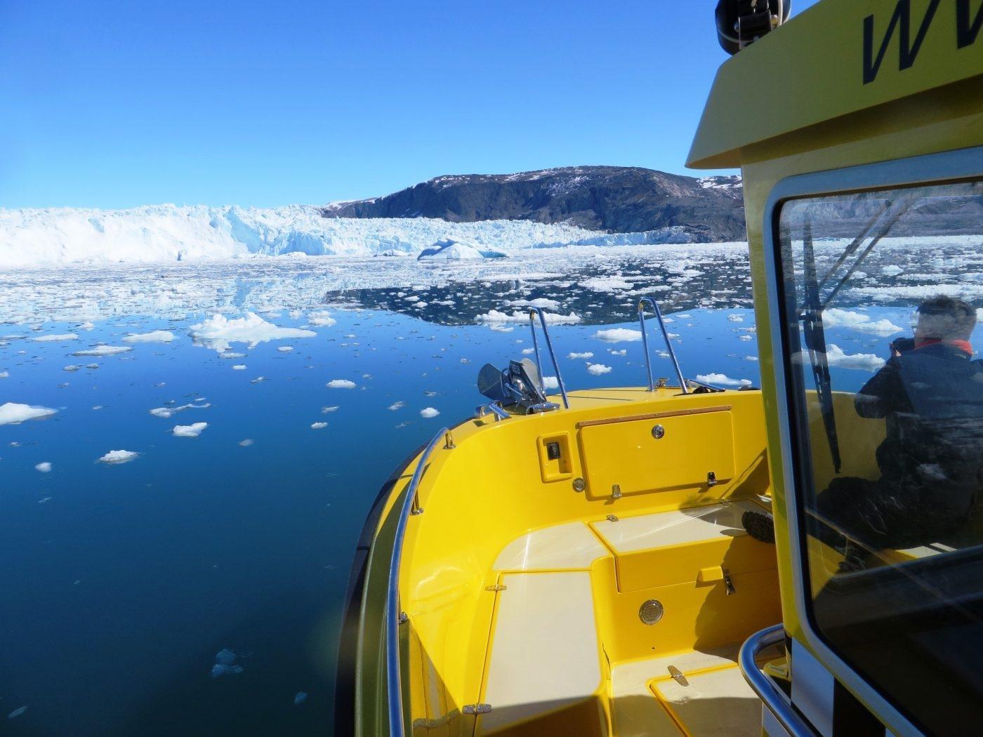 Greenland Water Taxi. Photo by Barbara Wang