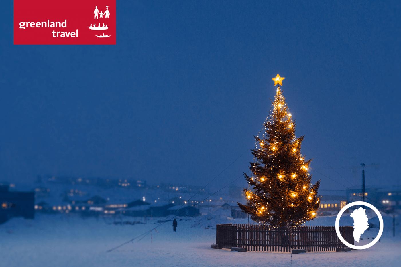 Weihnachtsbaum in Groenland, bei Mads Pihl