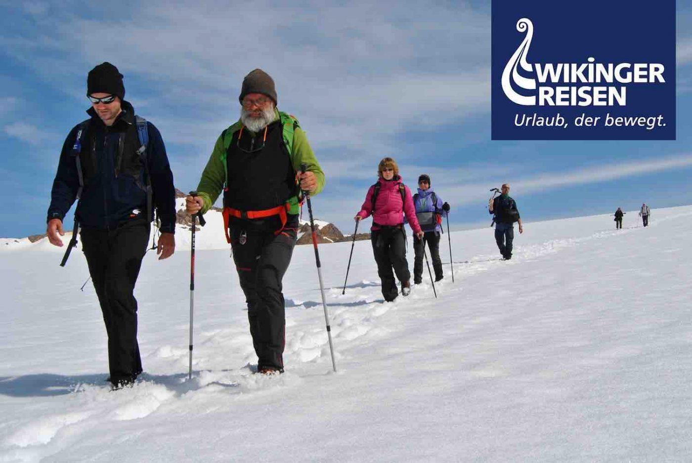 Wikinger Reisen: Outdoor-Abenteuer im ostgrönländischen Inlandseis