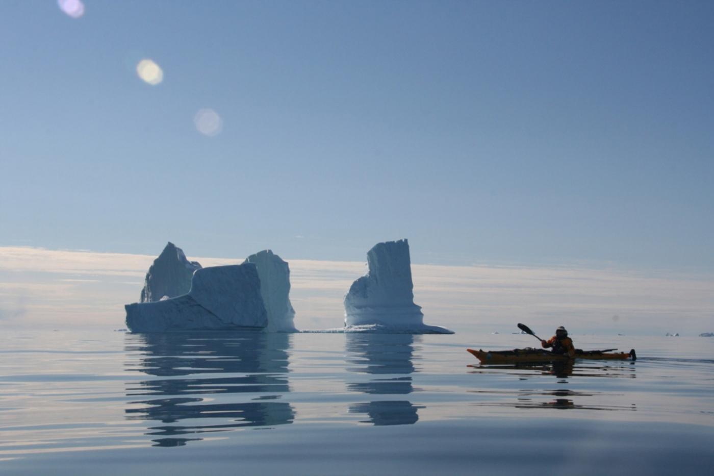 Grönlandsresor: Die großartige grönländische Kajakexpedition