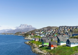 Colourful Nuuk. Photo by Stine Selmer Andersen - Visit Greenland