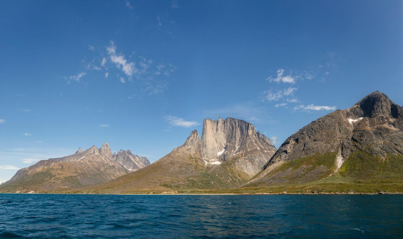 On the way into Tasermiut Fjord, South Greenland. Photo by Aningaaq R Carlsen - Visit Greenland