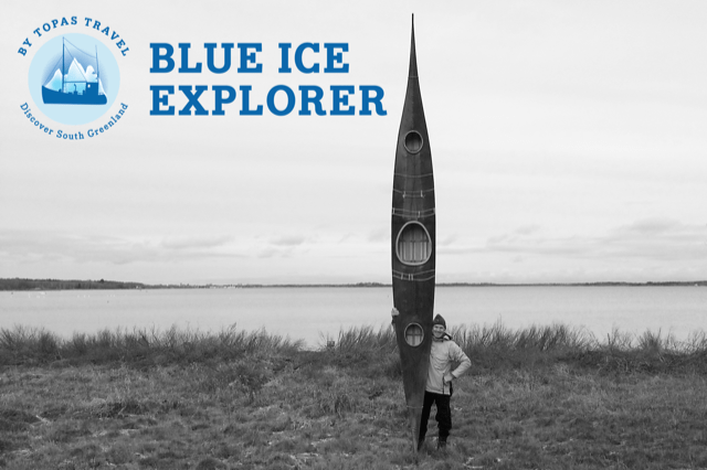 Blue Ice Explorer: Traditionell kajak Erfarhrung – 1 Tag