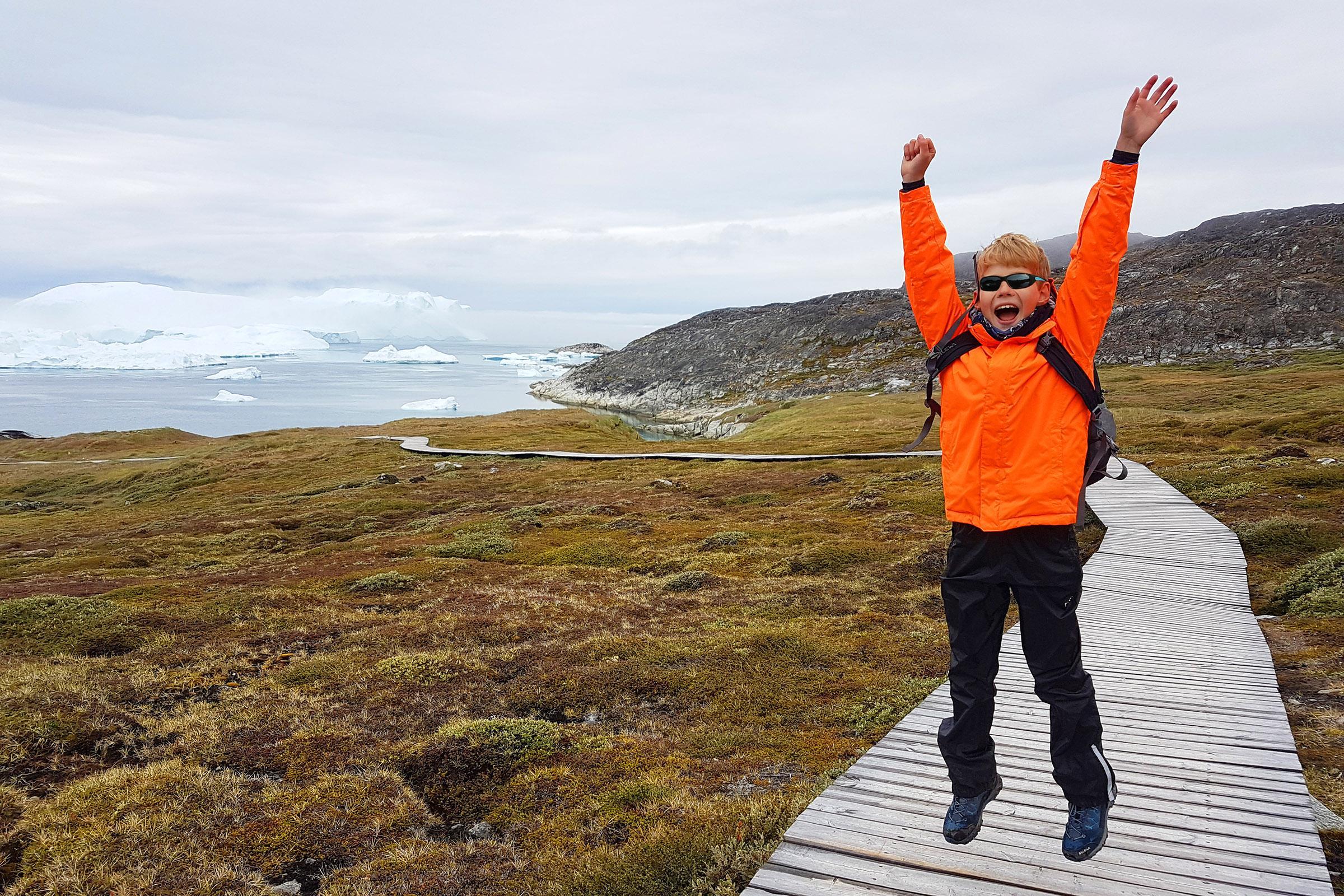 Greenland with kids.Photo by Jurga Rubinovaite.