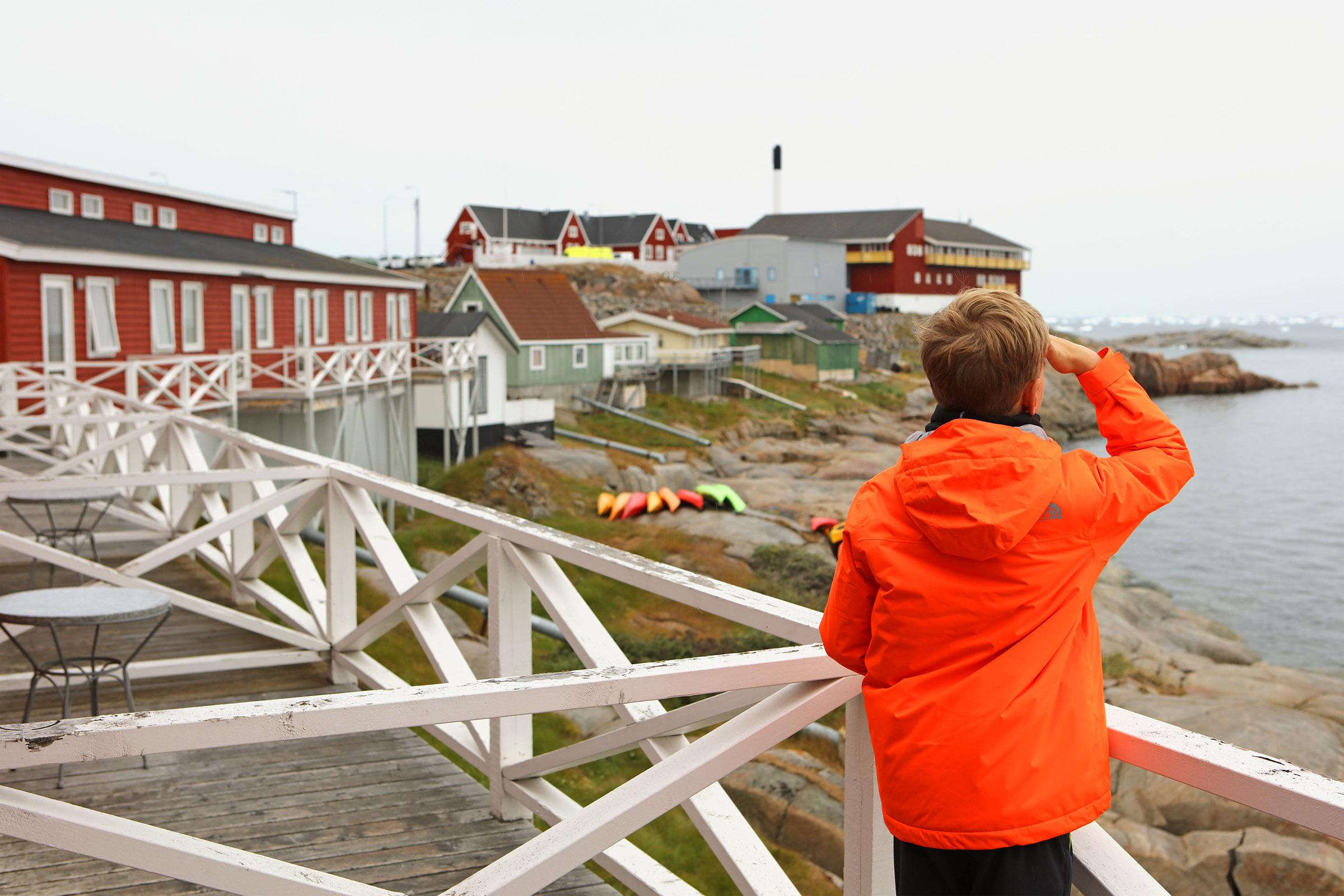 Visiting Greenland with kids - book hotels in advance. Photo by Jurga Rubinovaite.