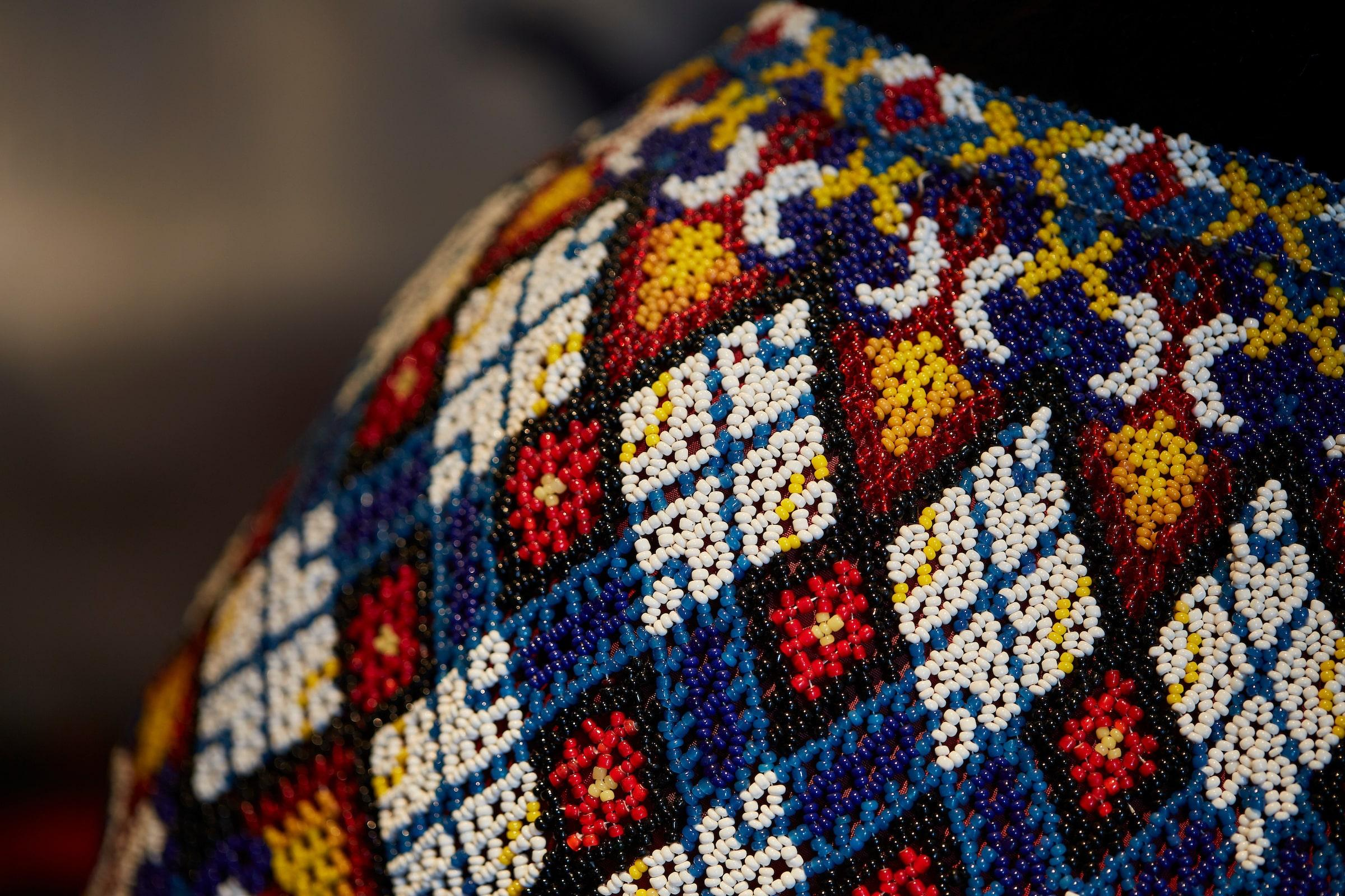 Details Of The Costume. Photo by Peter Lindstrom - Visit Greenland