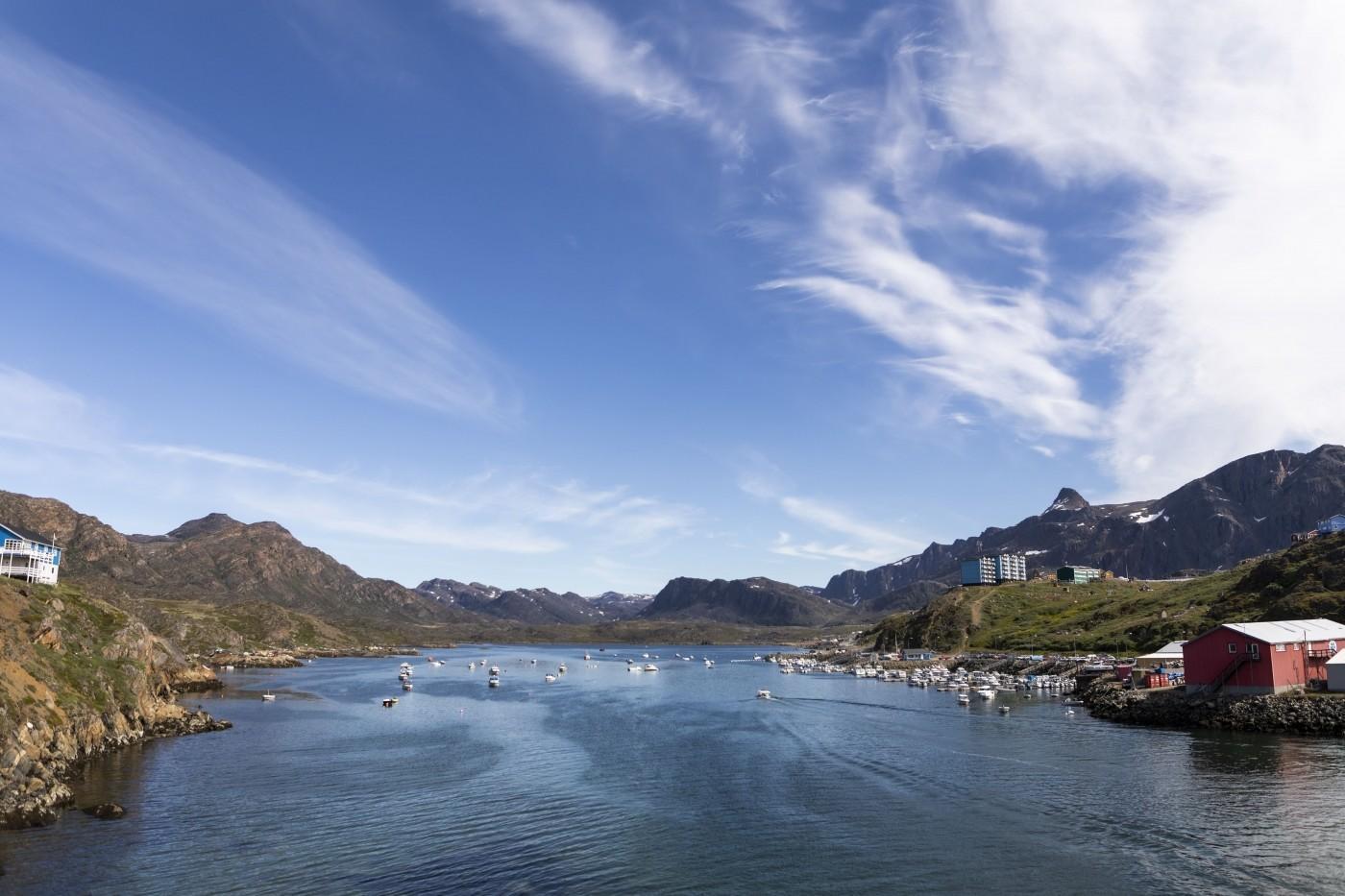 On the bridge towards Ulkebugten. Photo by Aningaaq R Carlsen - Visit Greenland