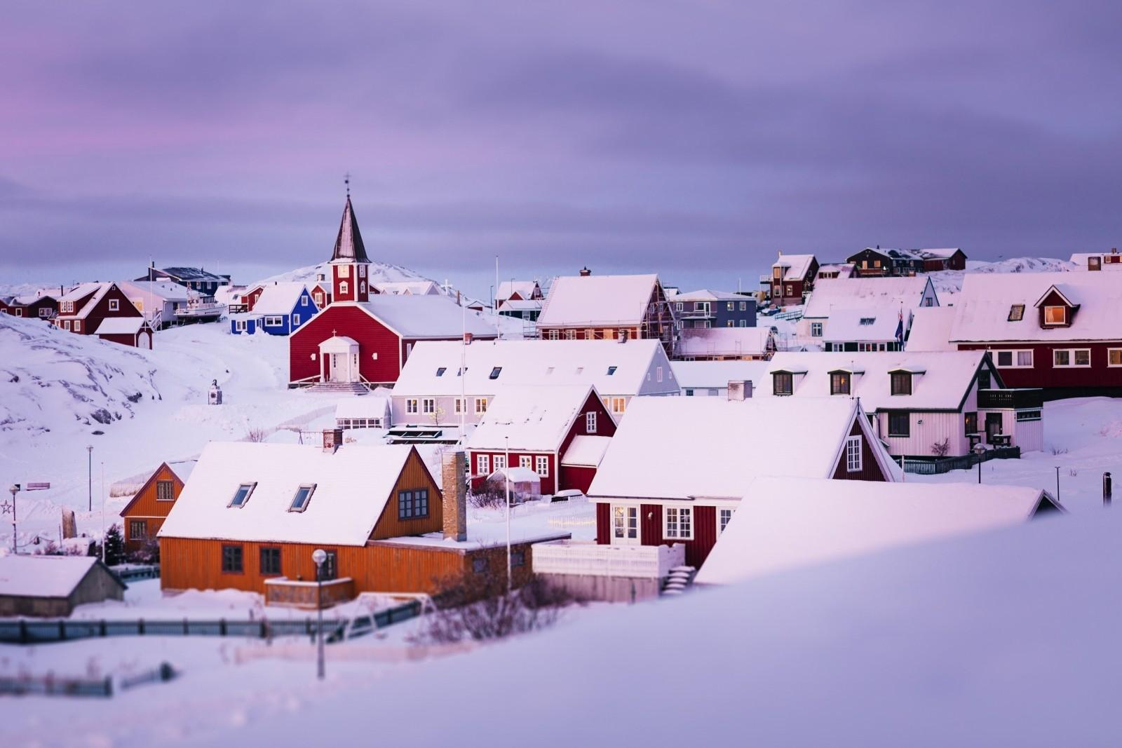 Before-The Red Church and the Old Nuuk area