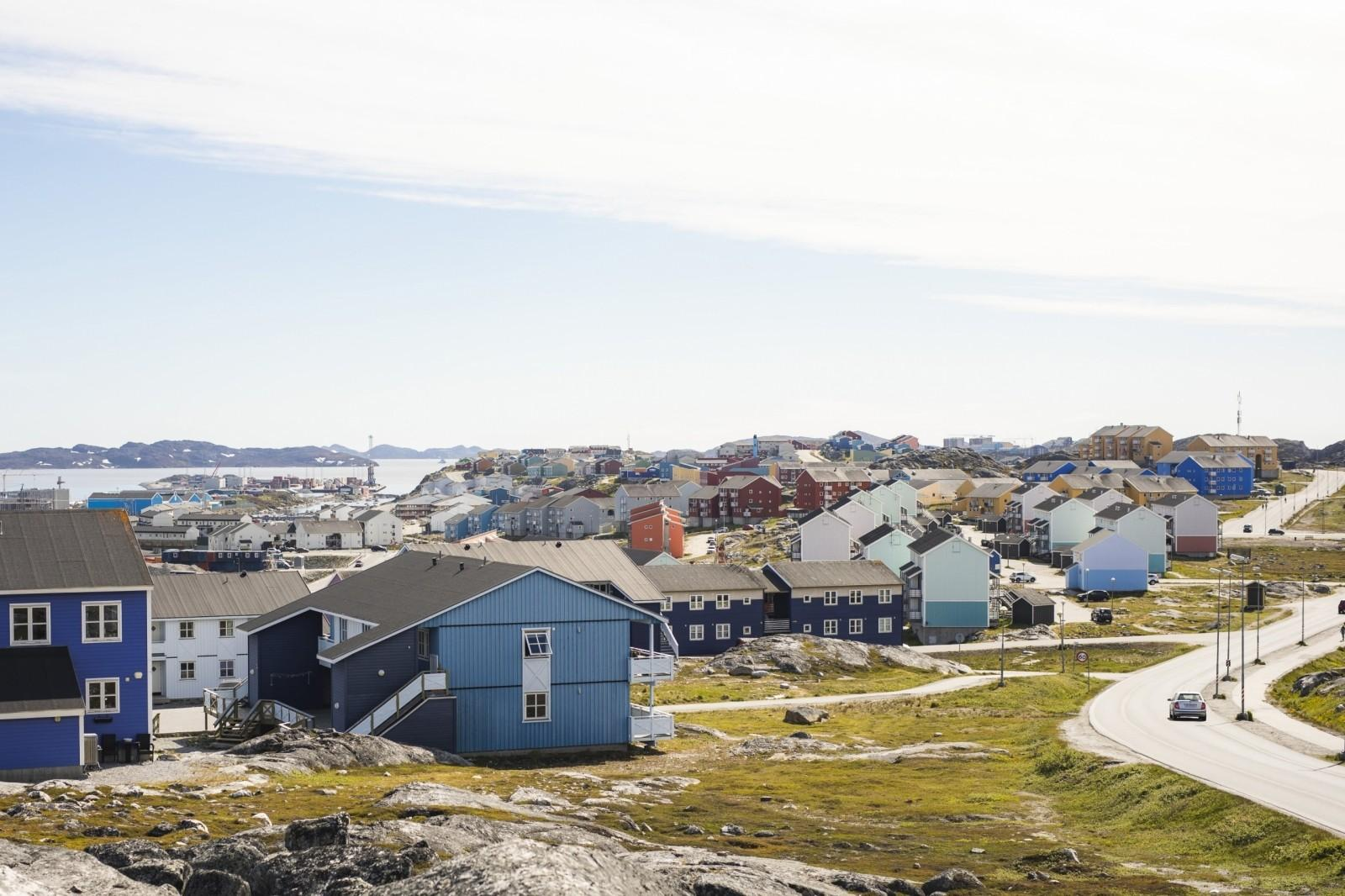 After-Sunrise over Nussuaq in Nuuk
