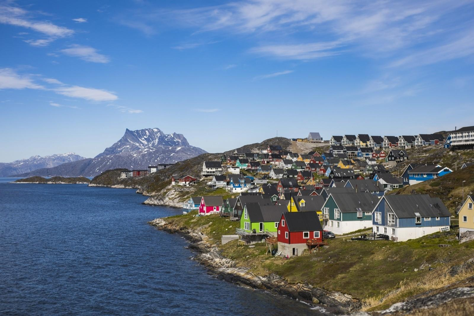 After-One of the famous viewpoint in Nuuk, the view from Myggedalen