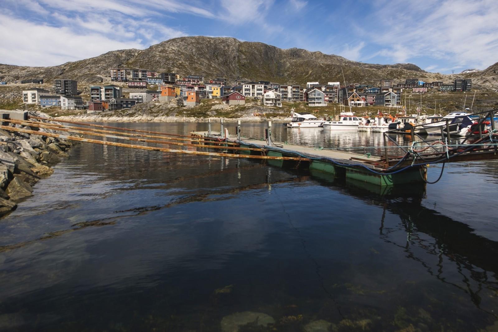 After-Qinngorput harbour