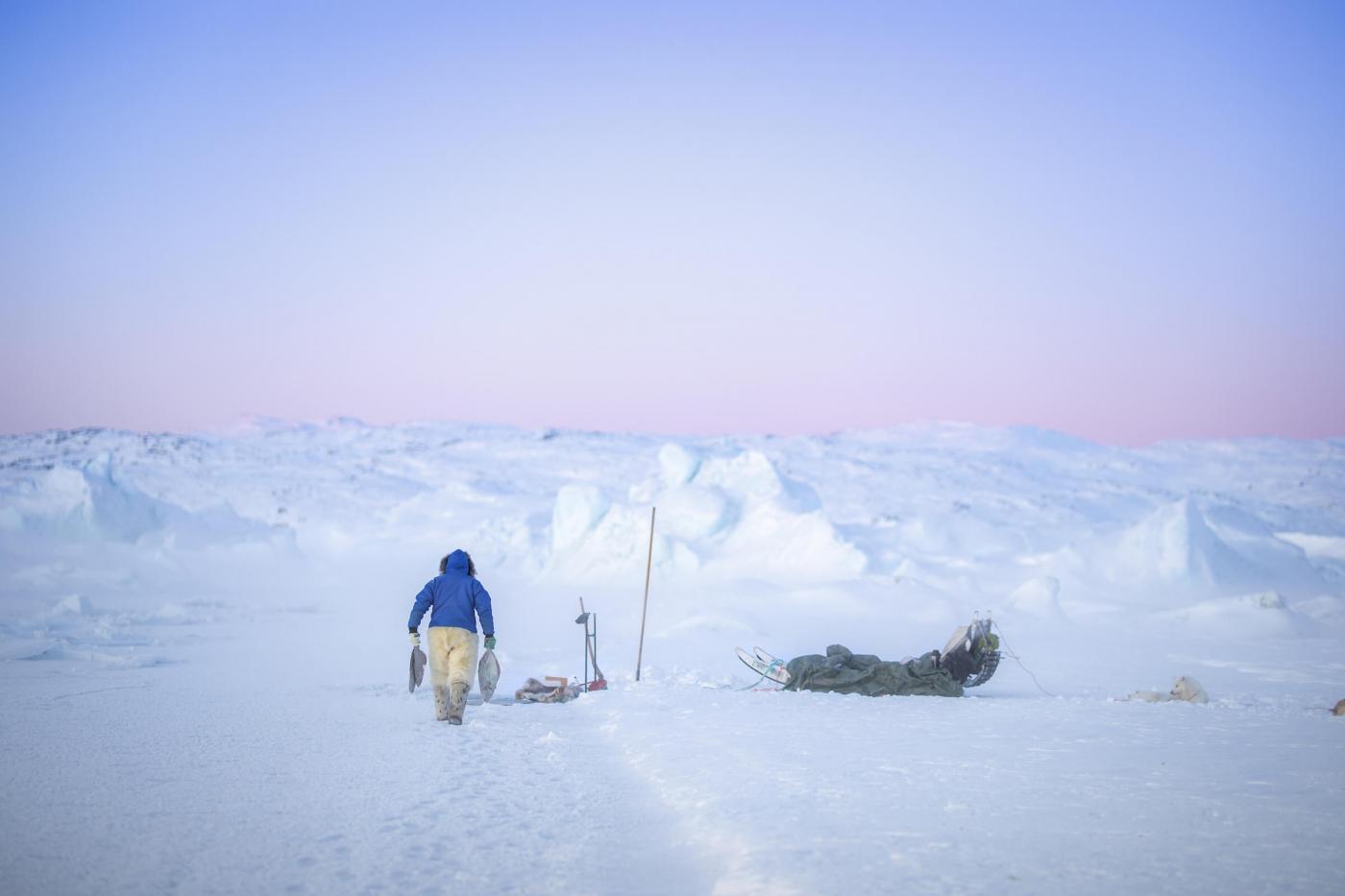 Fishing spot near Ilulissat. Photo - Aningaaq R. Carlsen, Visit Greenland
