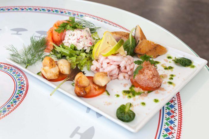 Seafood Platter at Katuaq. Photo by Siggi Anton