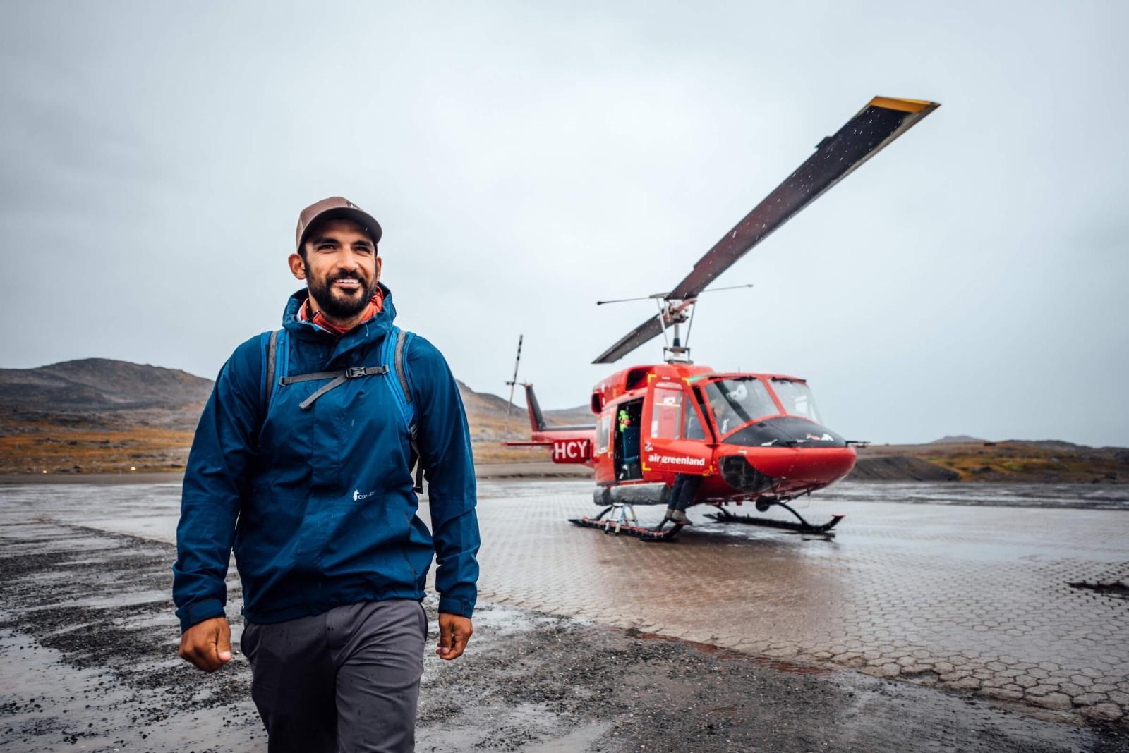 Air Greenland, Helicopter At Kulusuk Airport. By Chris Brinlee Jr