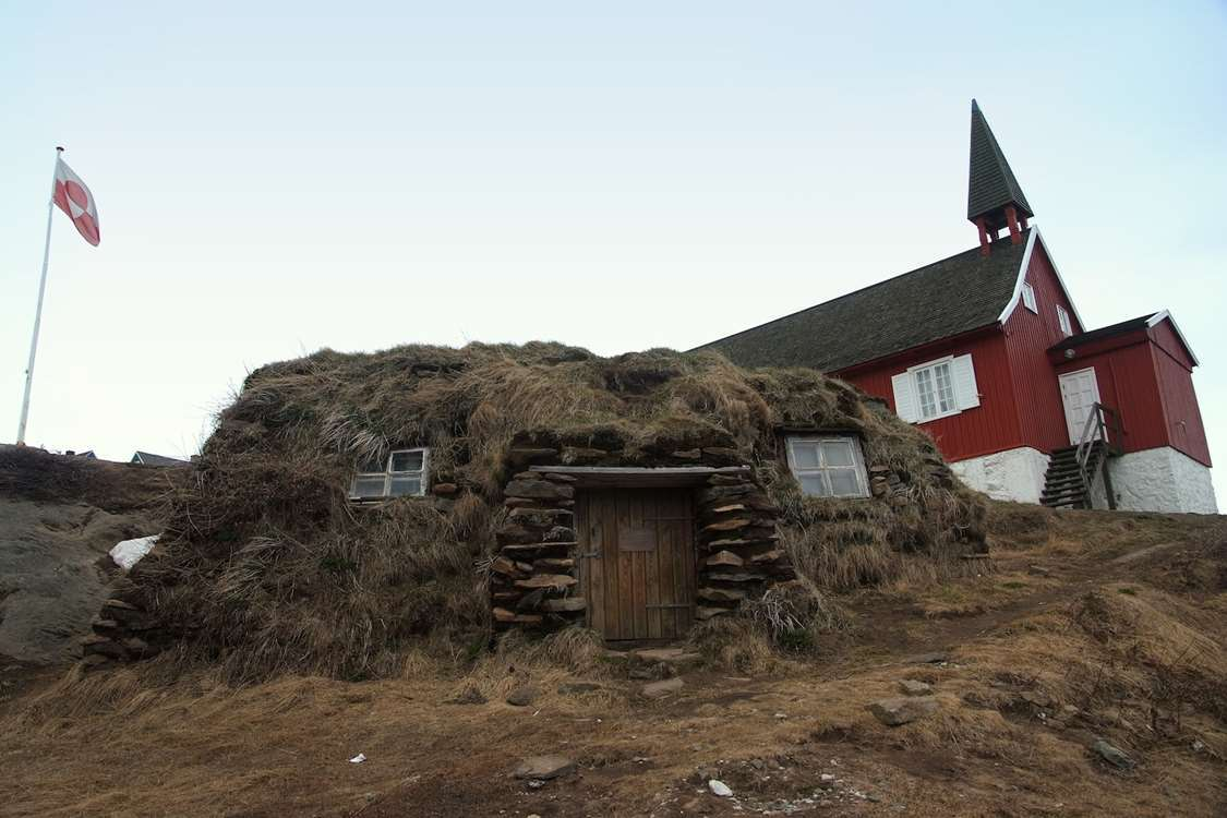 The Tasiilaq Museum from outside.