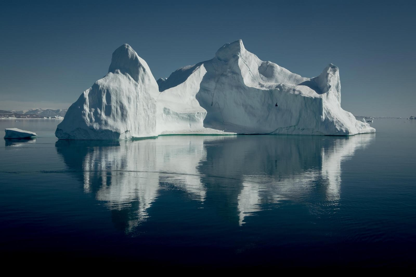 An iceberg near Illorsuit in Greenland. By Mads Pihl