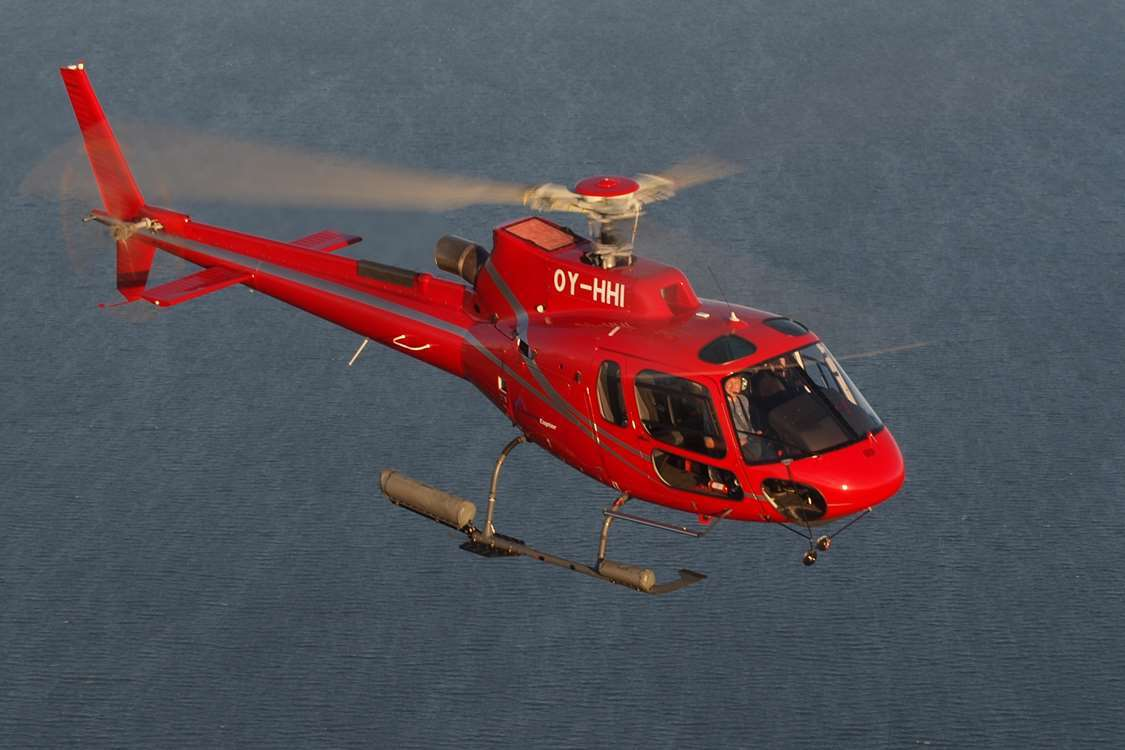 Flying Helicopter on a tour operated by GreenlandCopter. Photo by Arctic Wonderland Tours, Visit Greenland