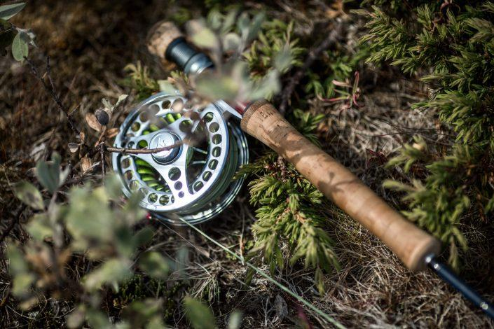 Fly fishing equipment in South Greenland. By Mads Pihl