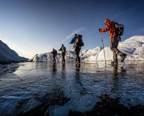 Glacier walking on the Greenland Ice Sheet near Kangerlussuaq, by Mads Pihl