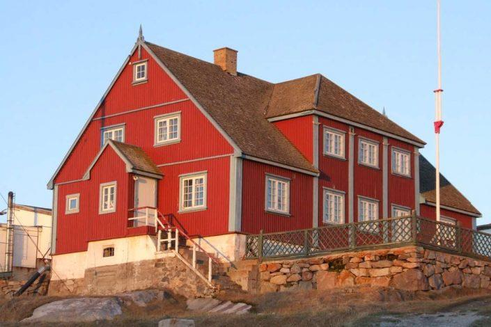 The local art museum in Ilulissat in Summer. Photo by Ilulissat Art Museum - Visit Greenland
