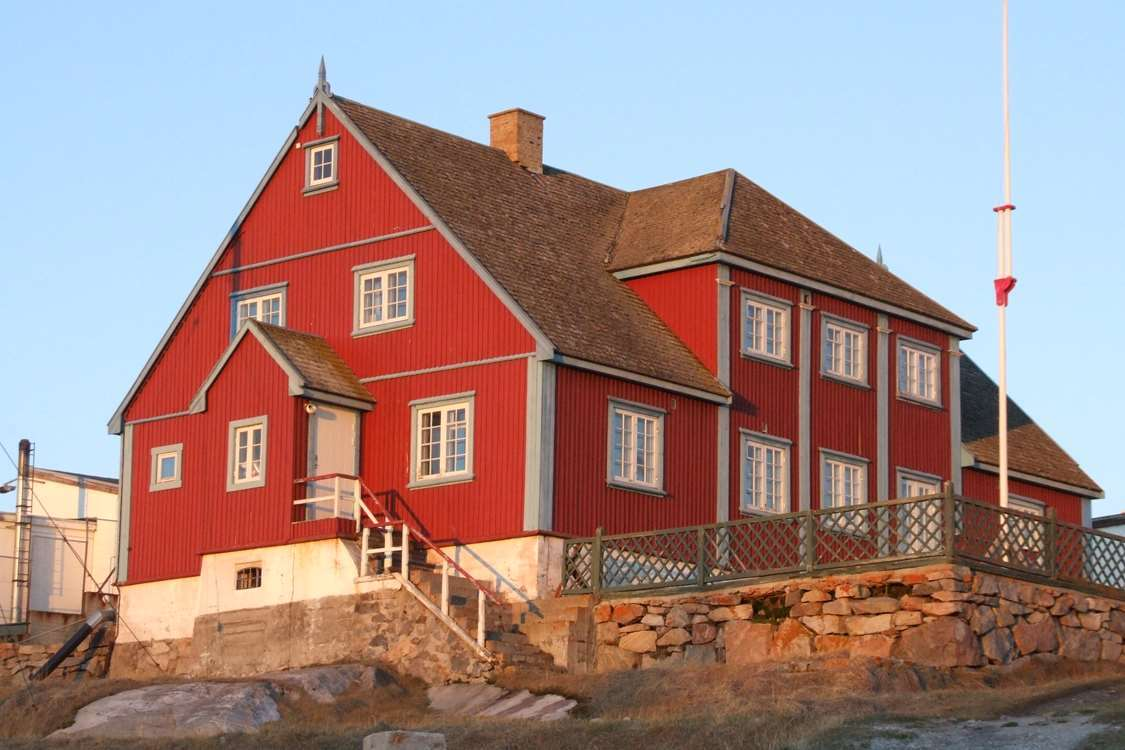 The local art museum in Ilulissat in Summer. Photo by Ilulissat Art Museum