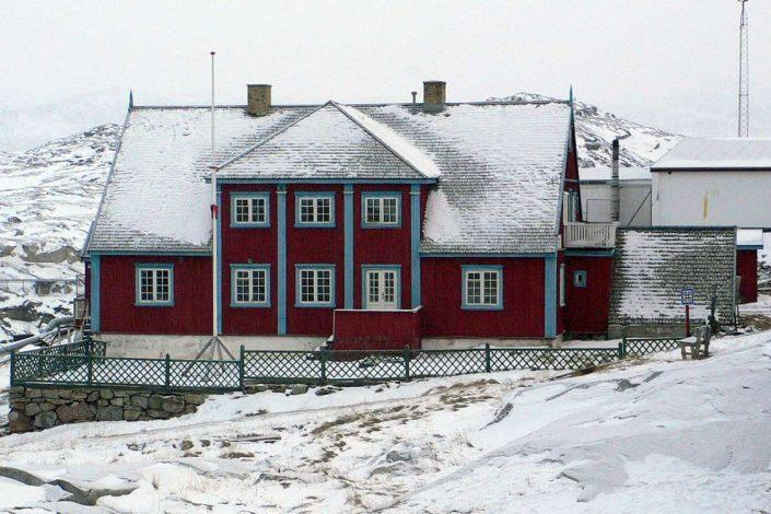 The local art museum in Ilulissat in Winter. Photo by Ilulissat Art Museum - Visit Greenland