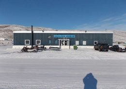 Front view of Kangerlussuaq Youth Hostel. Photo by Kangerlussuaq Youth Hostel - Visit Greenland