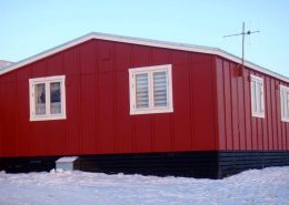 Qaanaaq Accommodation in Winter, North Greenland. Photo by Qaanaaq Accommodation