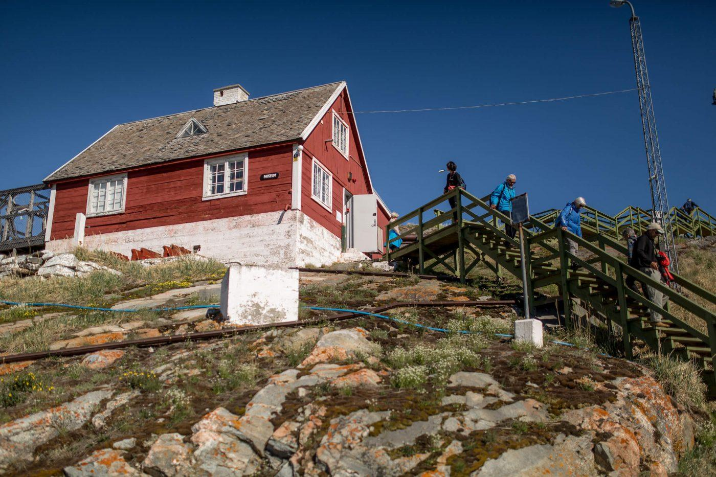 A part of Qasigiannguit Museum in Greenland. Photo by Mads Pihl - Visit Greenland