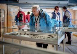 Guests visiting Qasigiannguit Museum in Greenland. Photo by Mads Pihl - Visit Greenland