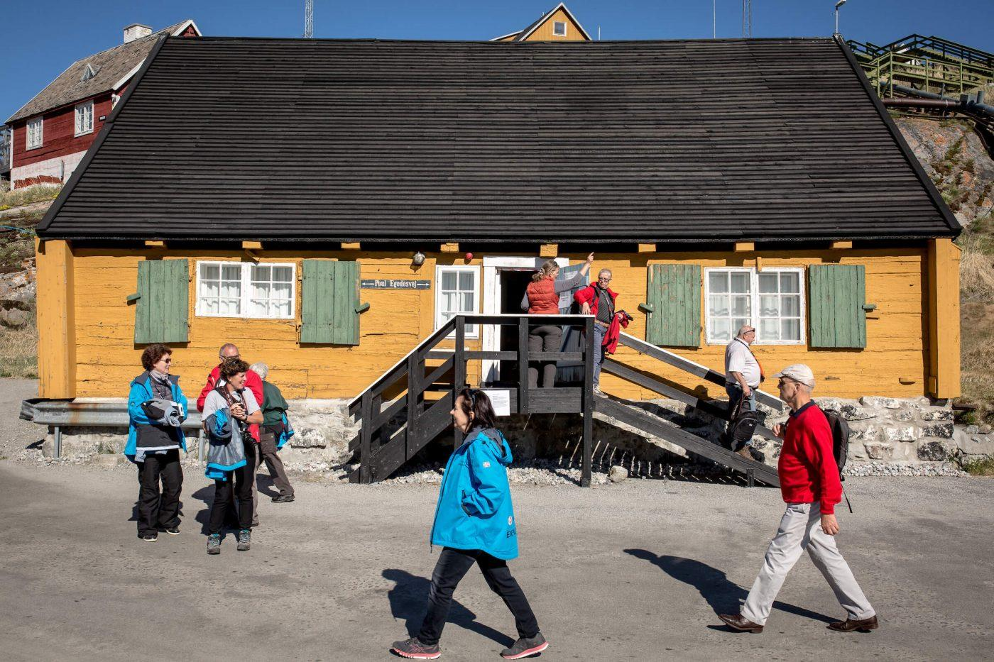 One of the buildings at Qasigiannguit Museum in Greenland. Photo by Mads Pihl - Visit Greenland