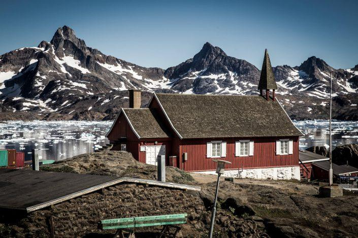 Tasiilaq Museum in the old church in Tasiillaq, East Greenland. By Mads Pihl