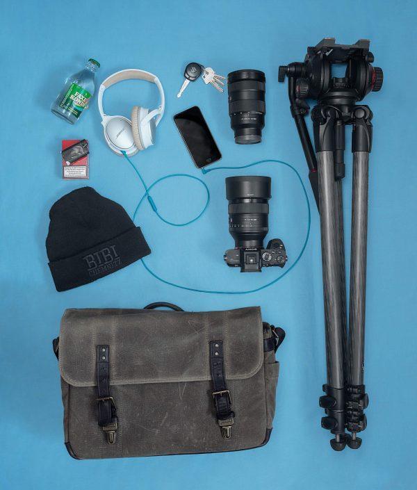 The everyday items of Ulannaq Ingemann, a greenlandic filmmaker. Photo by Rebecca Gustafsson