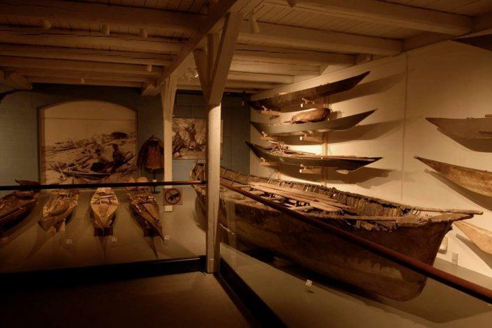 Inuit means of transport exhibition. Photo by The National Museum of Greenland, Visit Greenland