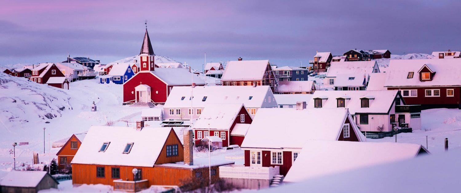 The old part of Nuuk in Greenland on a cold winter day in December. Photo by Rebecca Gustafsson.jpg