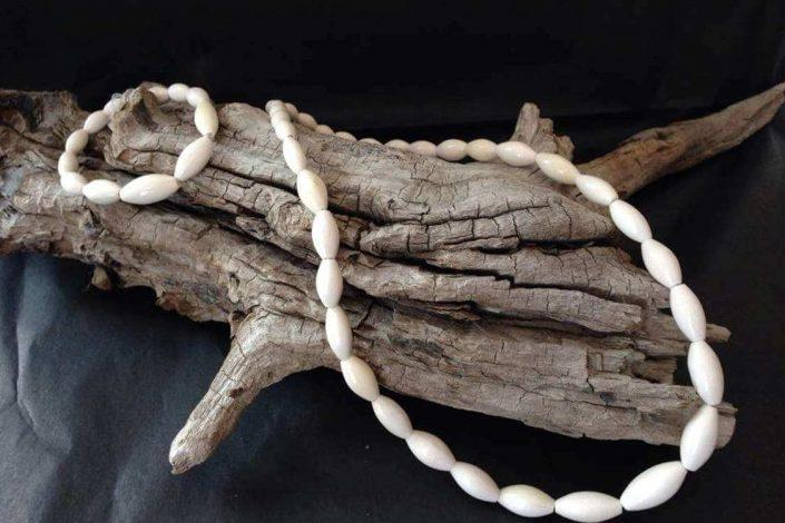 Handmade necklace. Visit Greenland