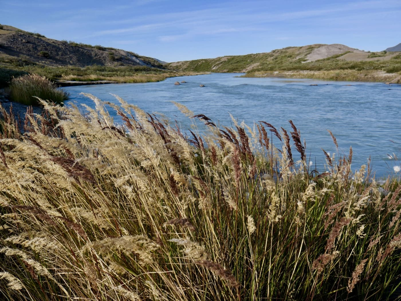 UNESCO area Aasivissuit lake view in Summer. Photo by Katrin Stolley - Visit Greenland