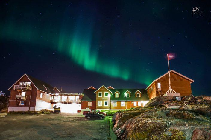 Hotel Seamen's home, Nuuk. Photo by HD Photography