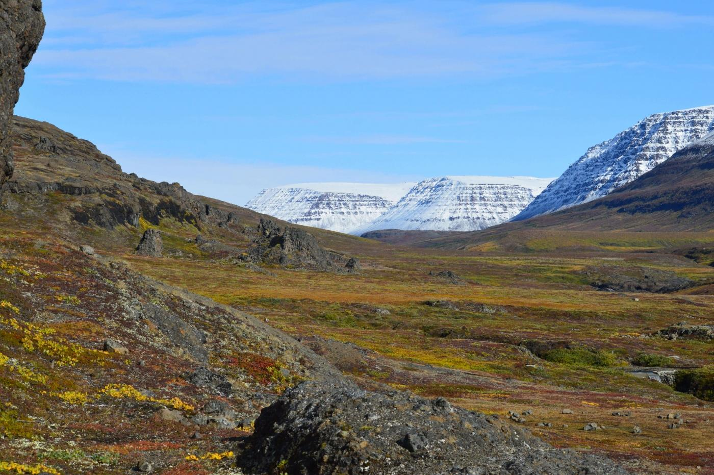 Beautiful, serene landscape near Qeqertarsuaq. Photo by Skansen - Your Home, Visit Greenland