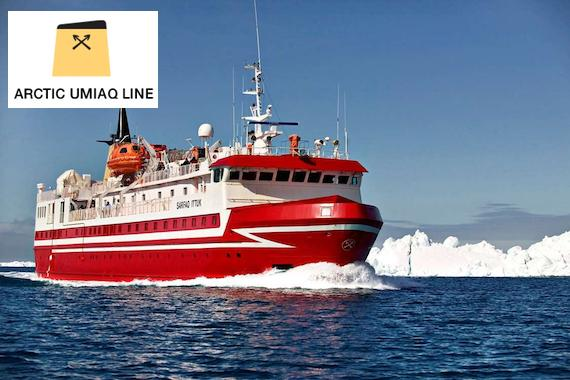 Arctic Umiaq Line: Discover Greenland from the sea