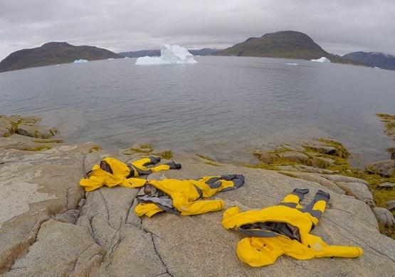 Drying Drysuits. By Visit Greenland